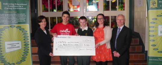 Davitt College pupils sing to make a difference