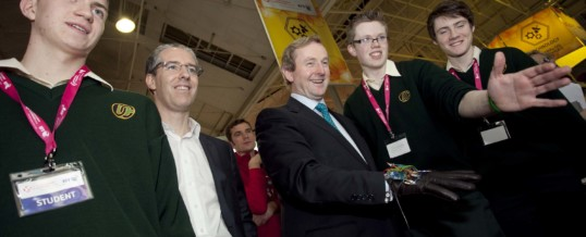 Davitt College Students US-Bound After Win At BT Young Scientist and Technology Exhibition