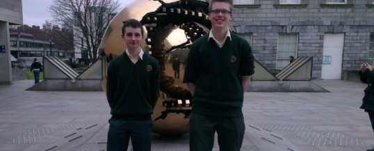 Davitt College Students attend Trinity College Dublin