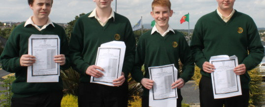 Excellent Results for Davitt College Students in Junior Certificate
